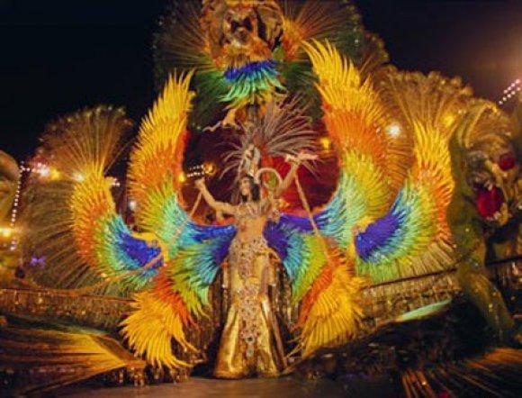 Веселый карнавал пройдет на острове Тенерифе